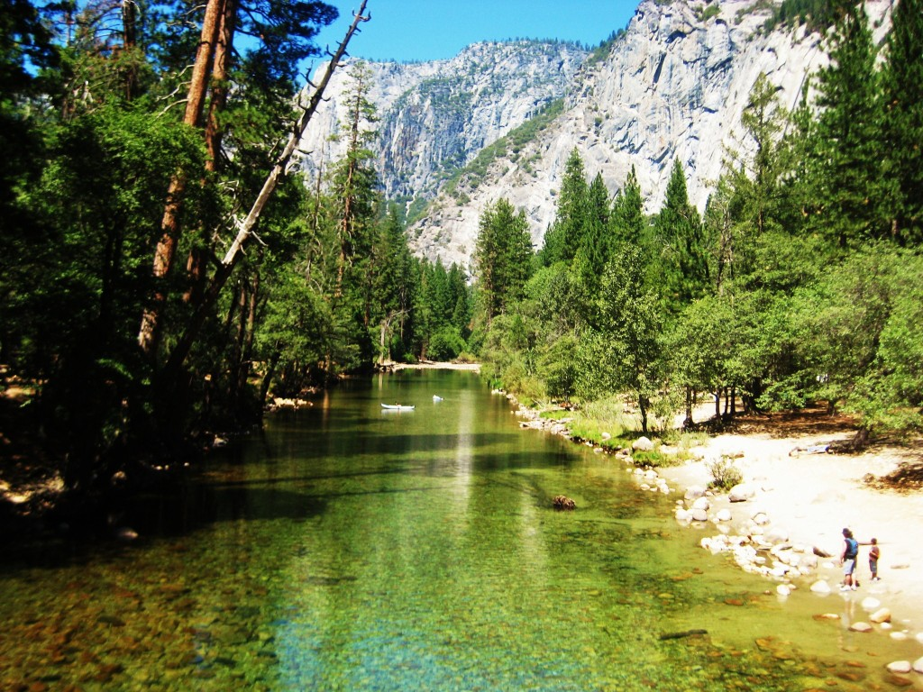 The Merced River, Yosemite