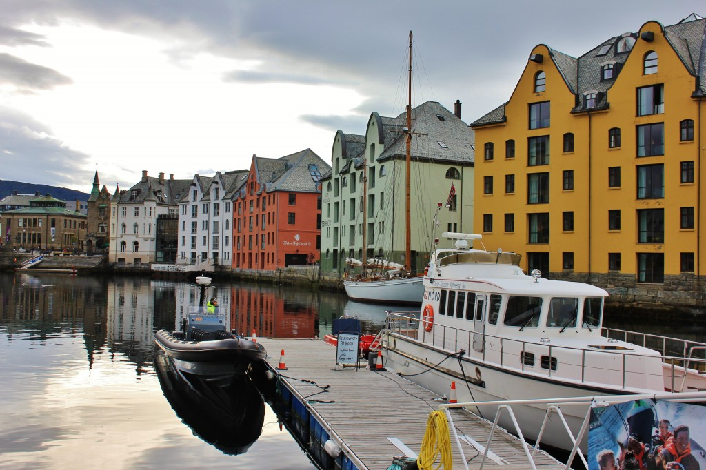 Alesund Harbour, Norway