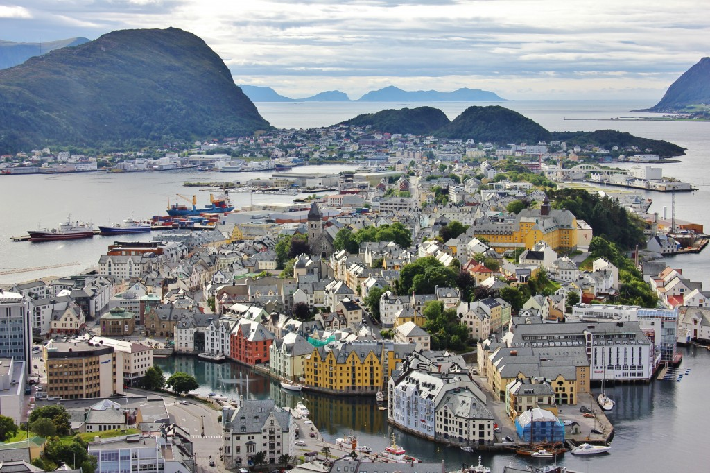 Panoramic View of Alesund