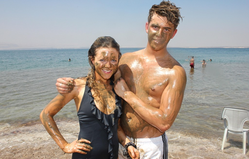Dead Sea Mud, amman, jordan, floating in the dead  sea