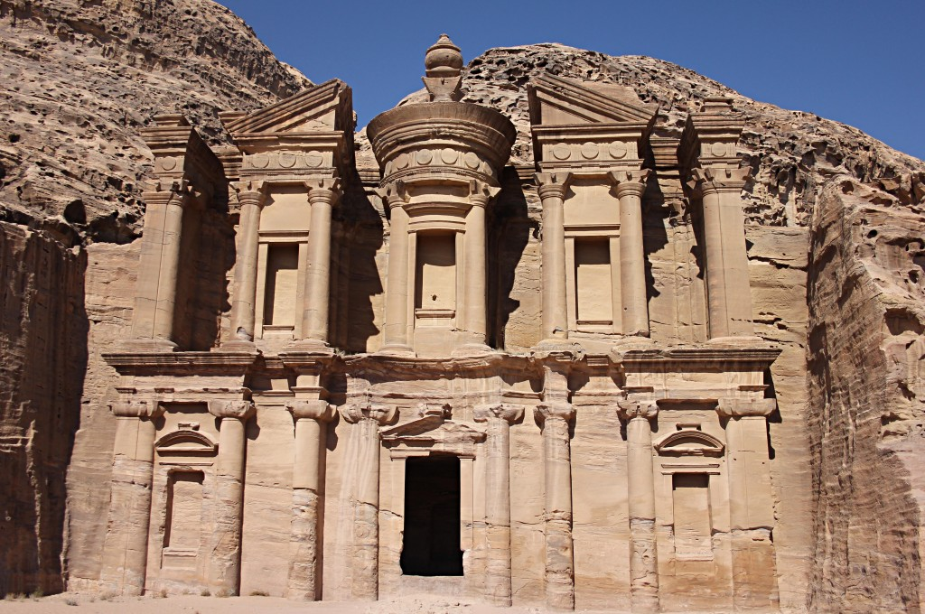 The Monastery in Petra, new seventh Wonder of the World, UNESCO