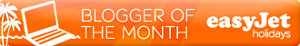 Easyjet Travel Blogger of Month