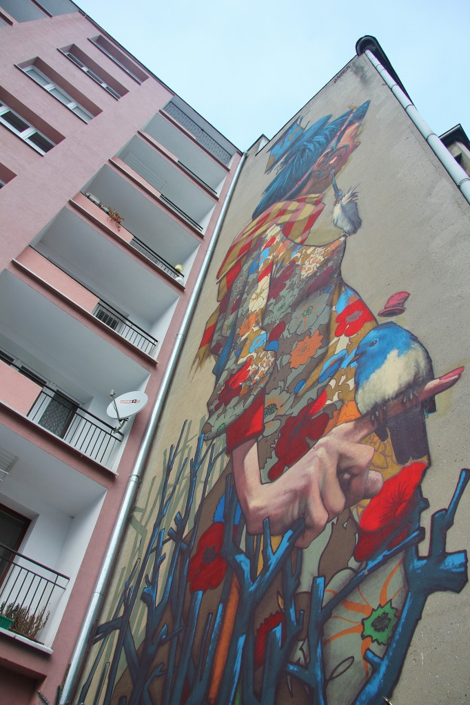 Street art, Sainer, Graffiti, Lodz, Poland