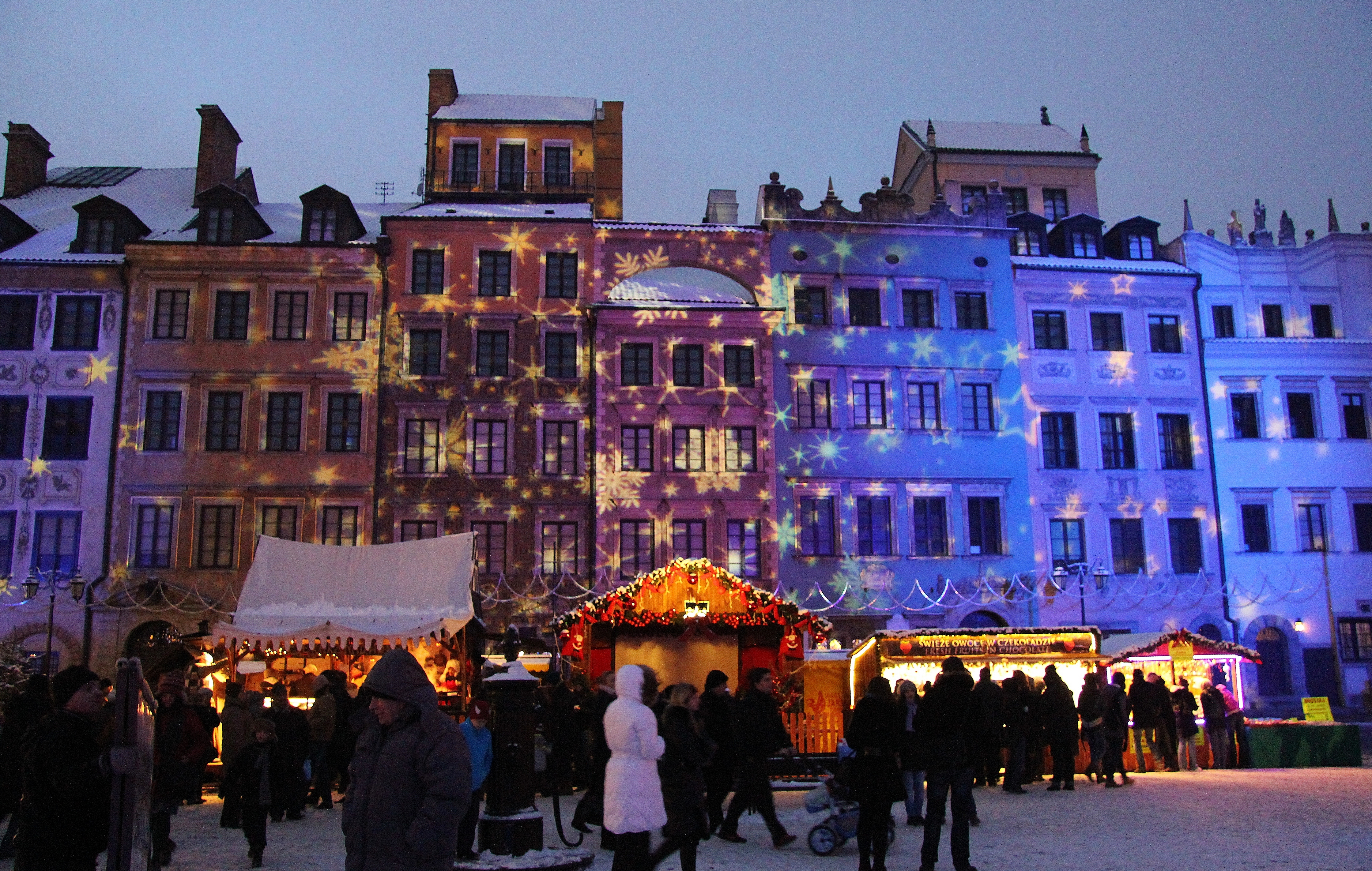 Warsaw, Christmas Market, Poland, Old Town, UNESCO