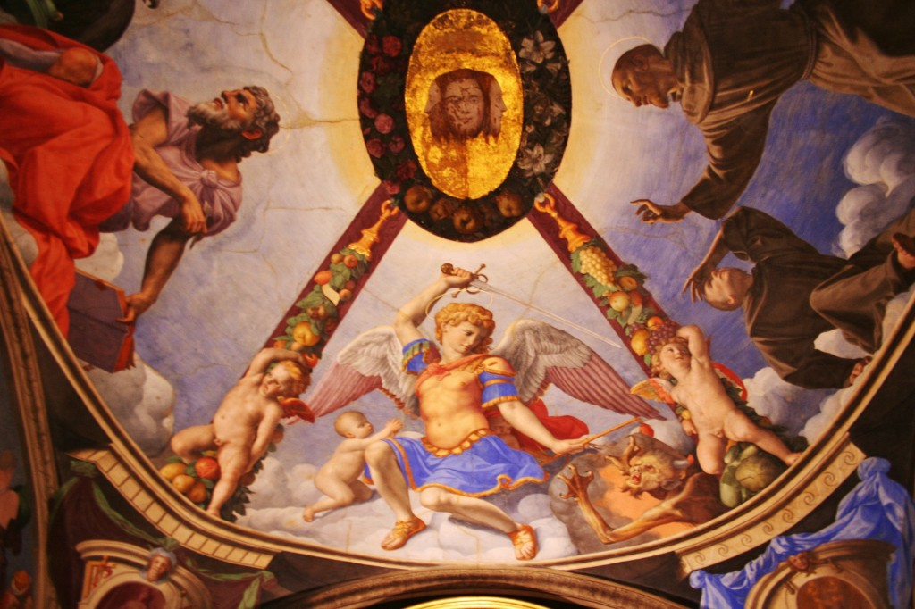 Palazzo Vecchio, florence, italy, ceiling