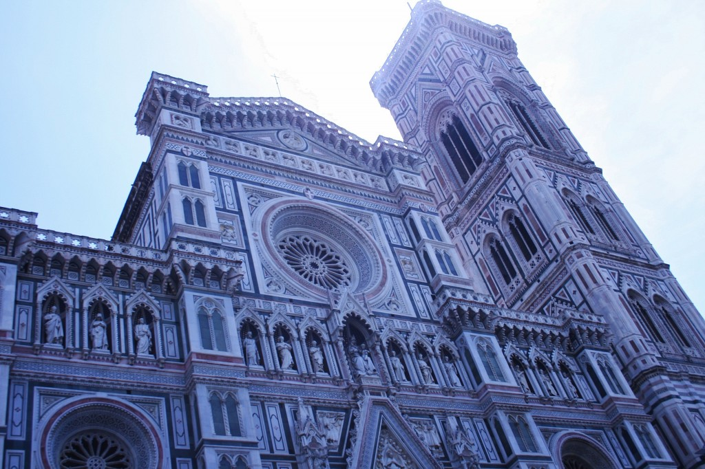 Piazza del Duomo, Florence, Italy, architecture