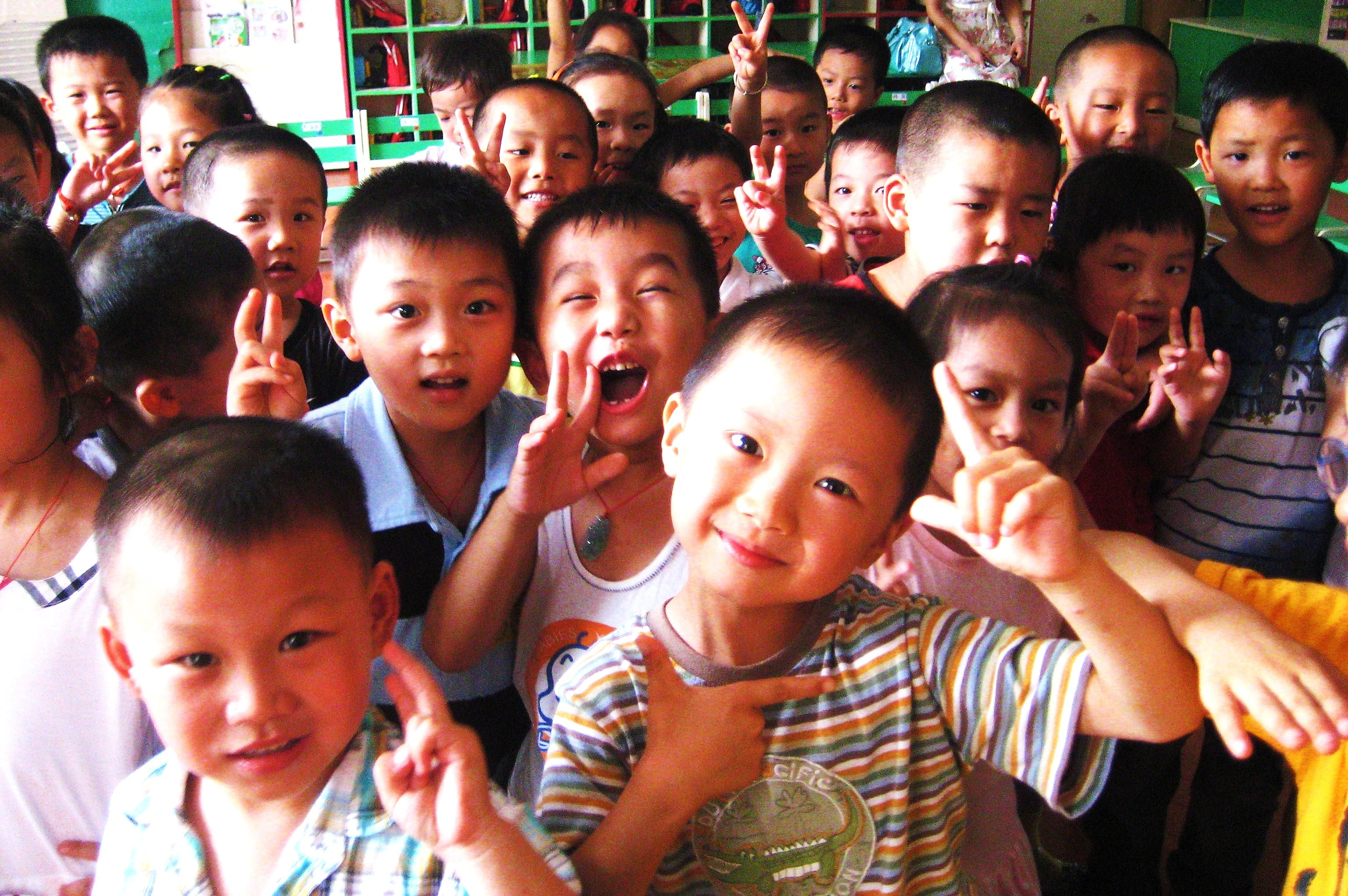 Teaching English in Chinese, Young children, China