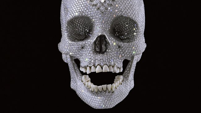damien hirst, diamond skull, Palazzo Vecchio, art