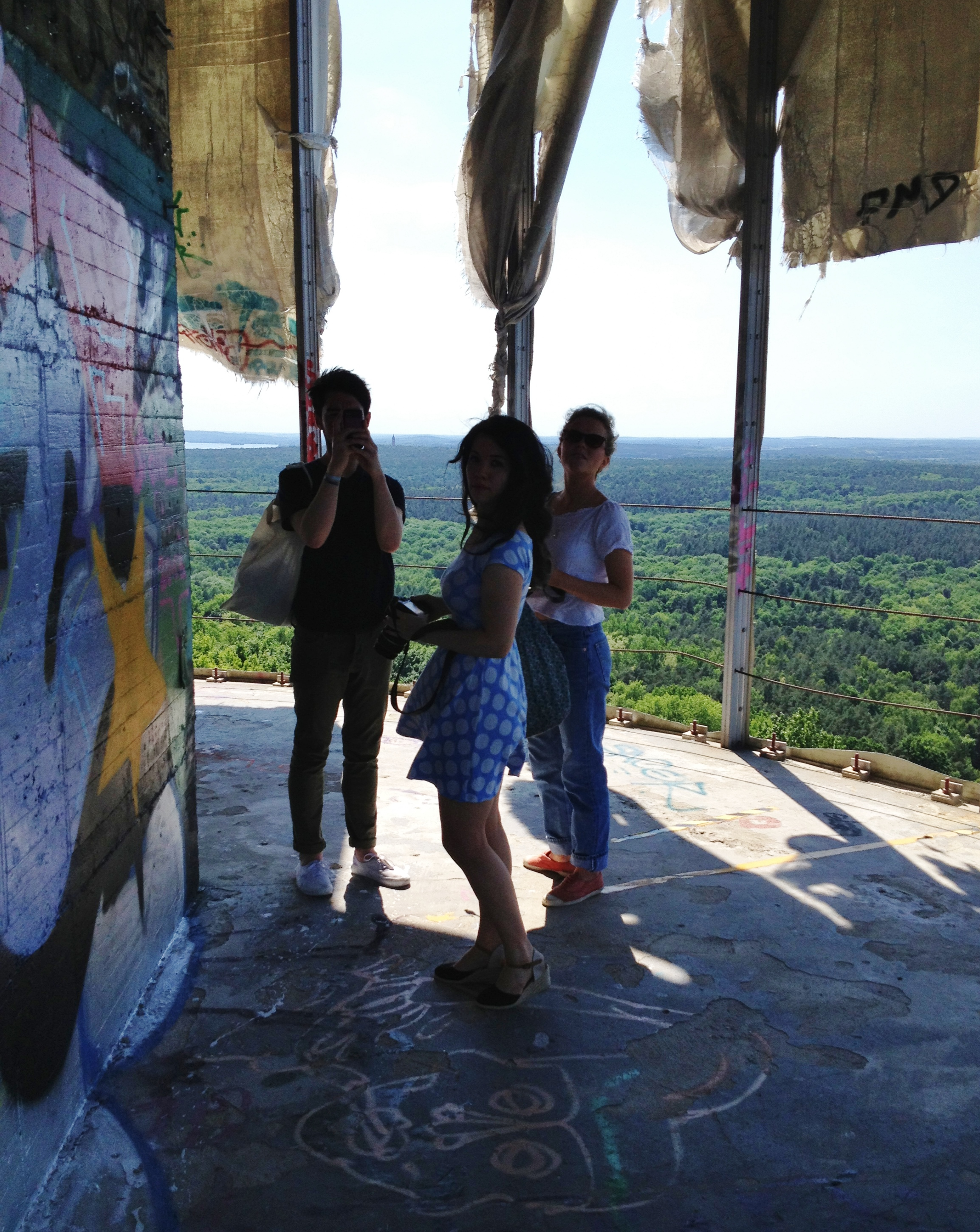 View of Berlin from Teufelsberg spy station