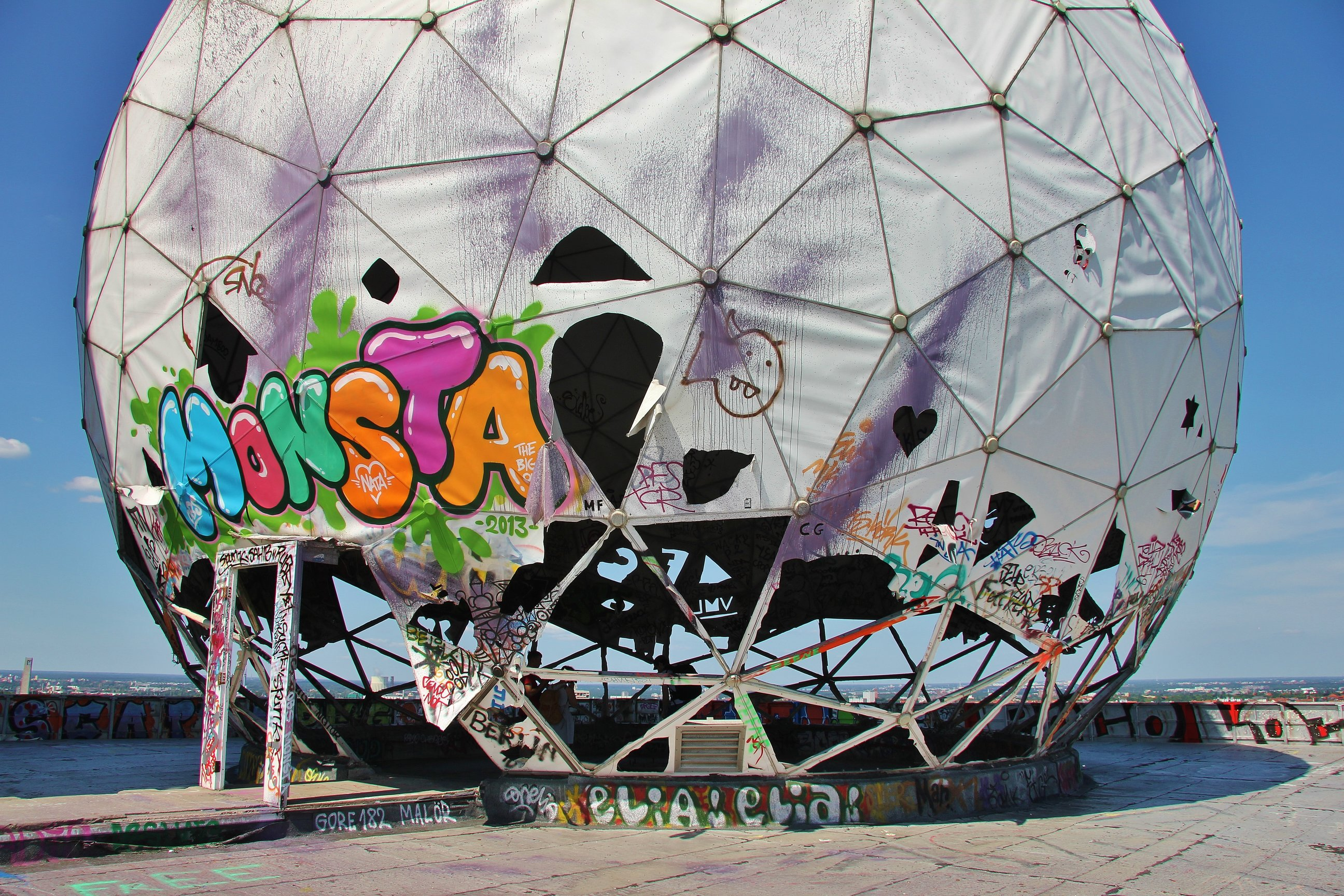 Teufelsberg spy station, Berlin