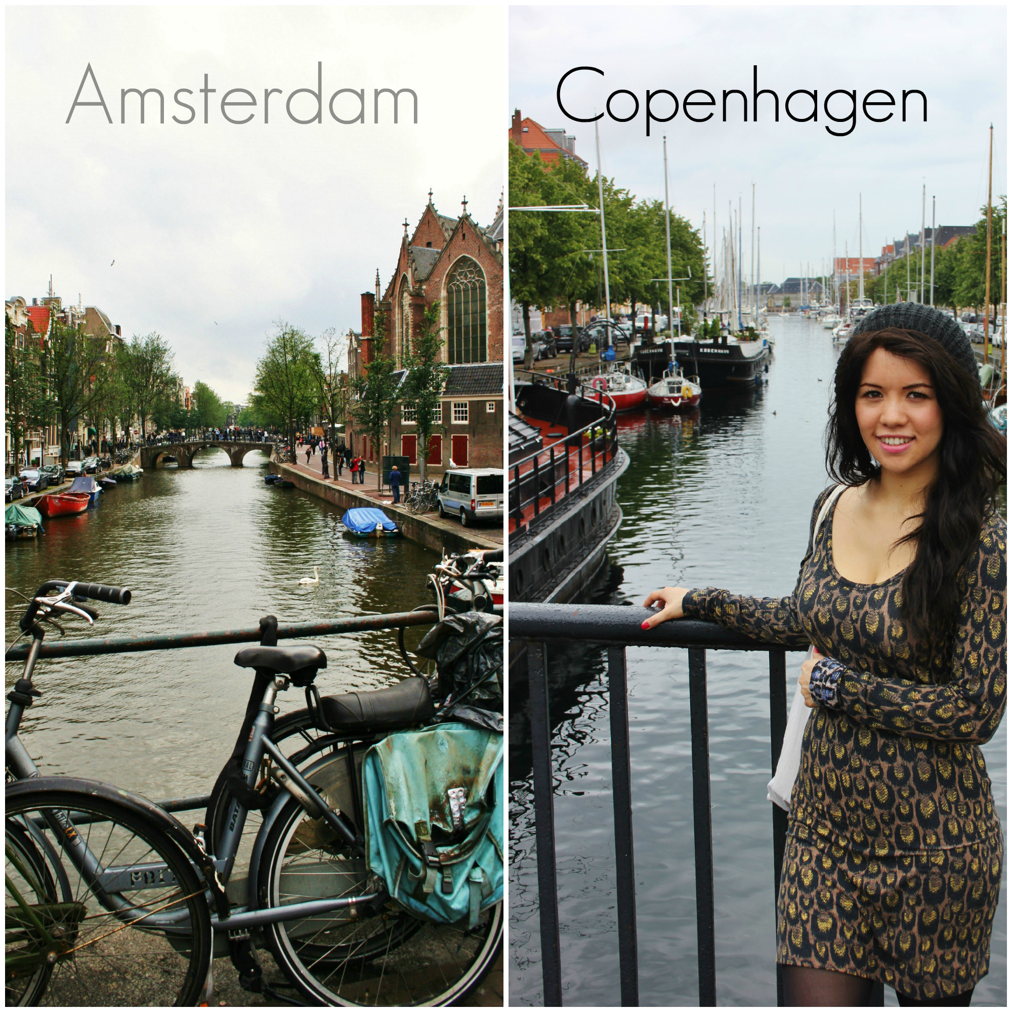 Likeness of Amsterdam and Copenhagen
