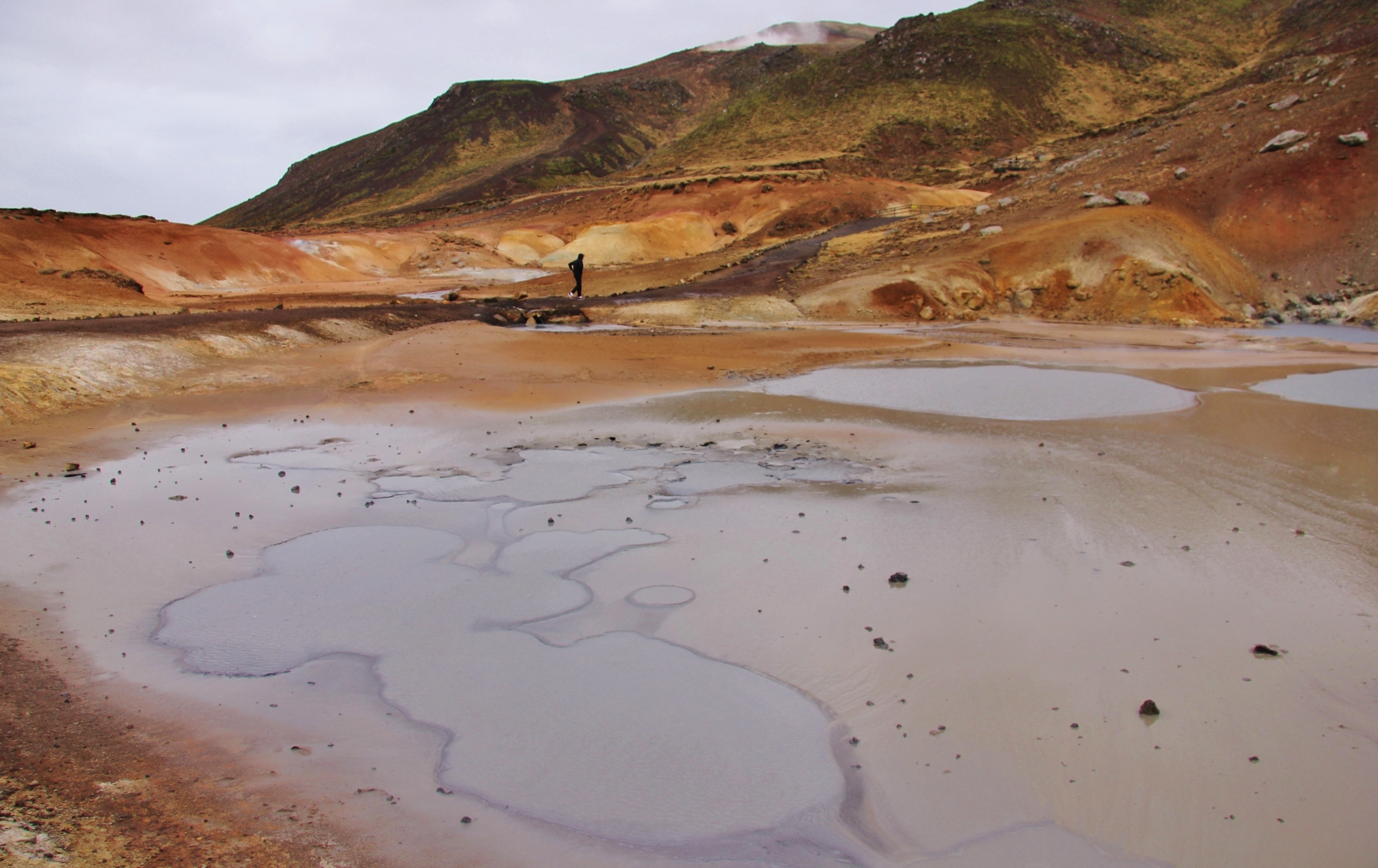 Seltun geothermal area, Iceland