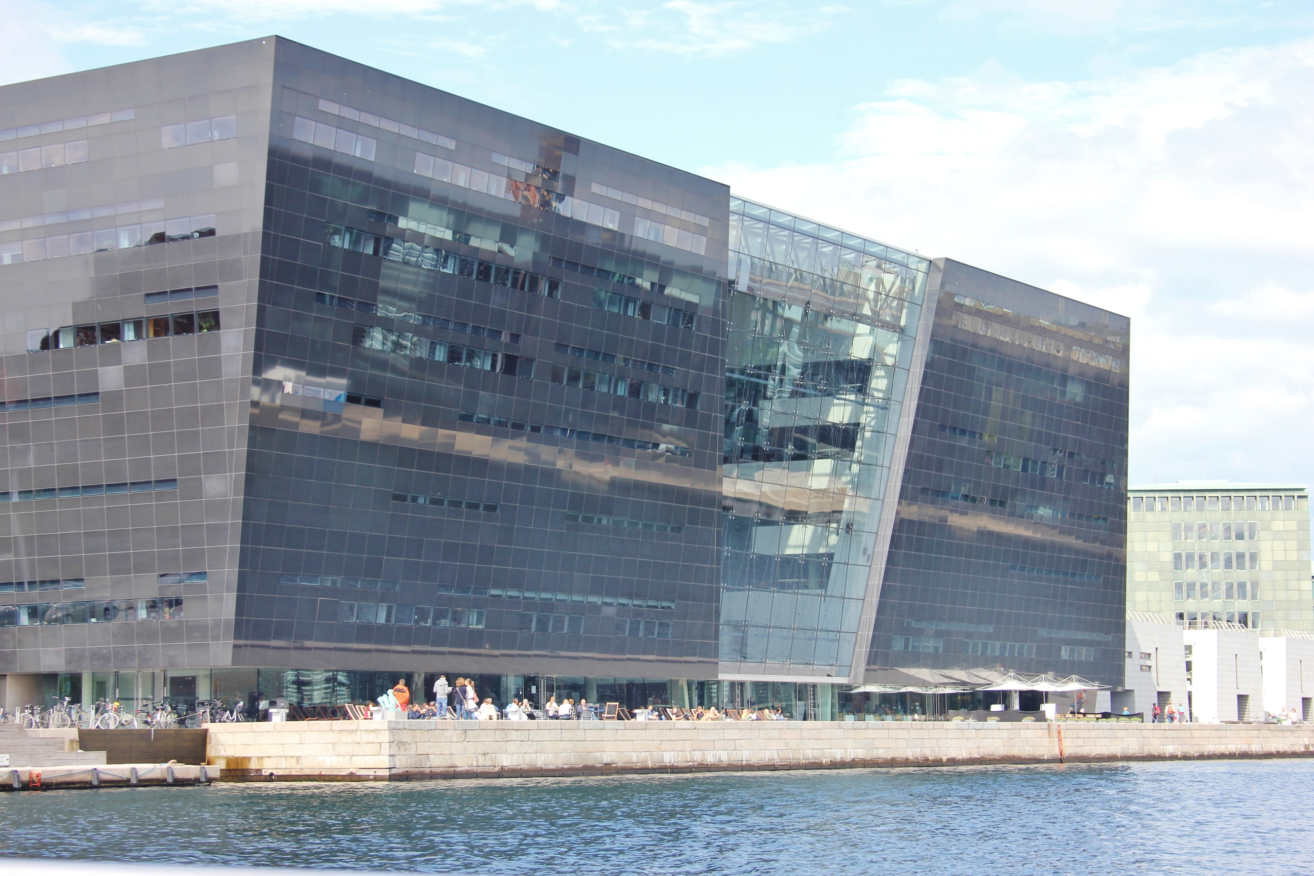 The Black Diamond Library in Copenhagen