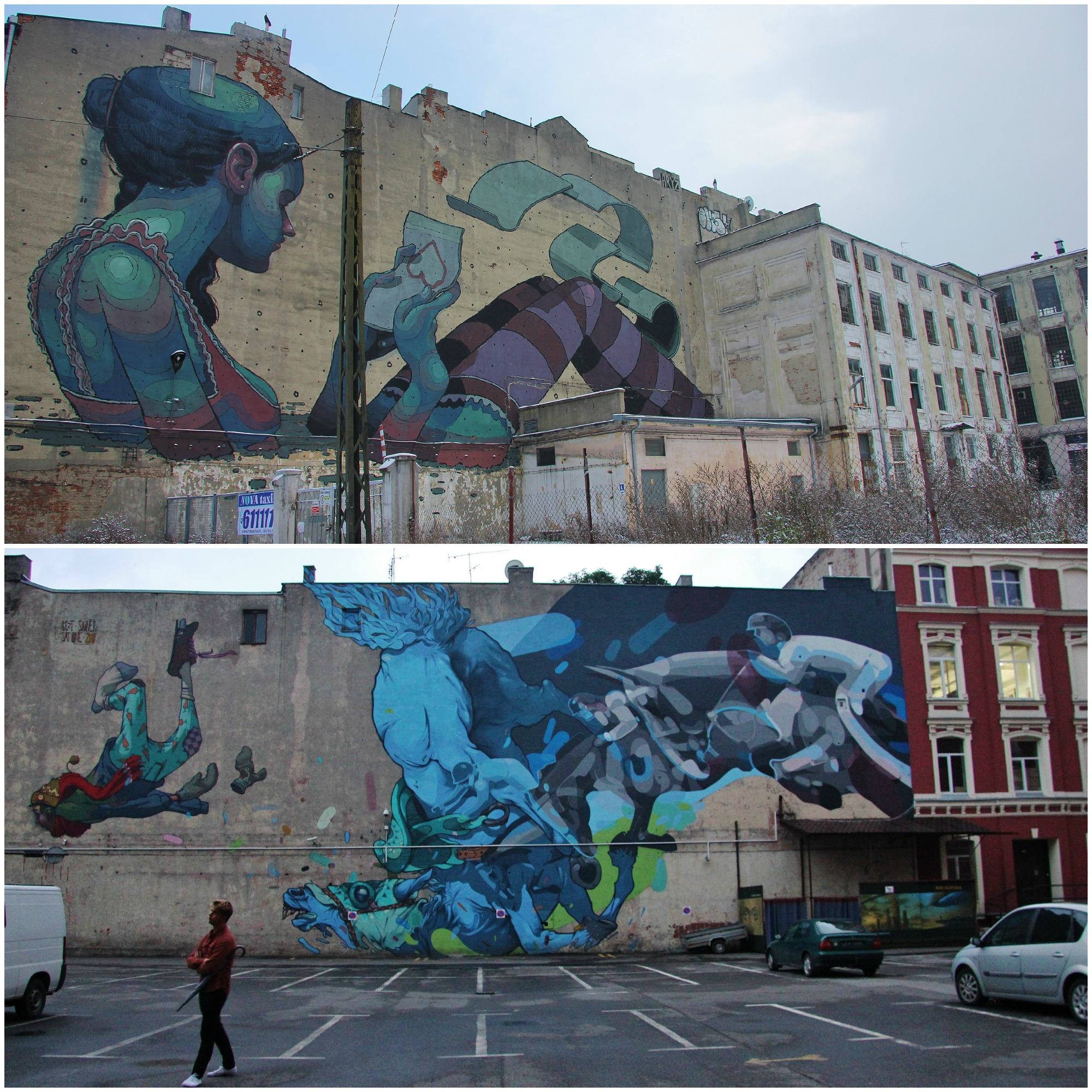Street Art in Lodz by Galeria Urban Forms