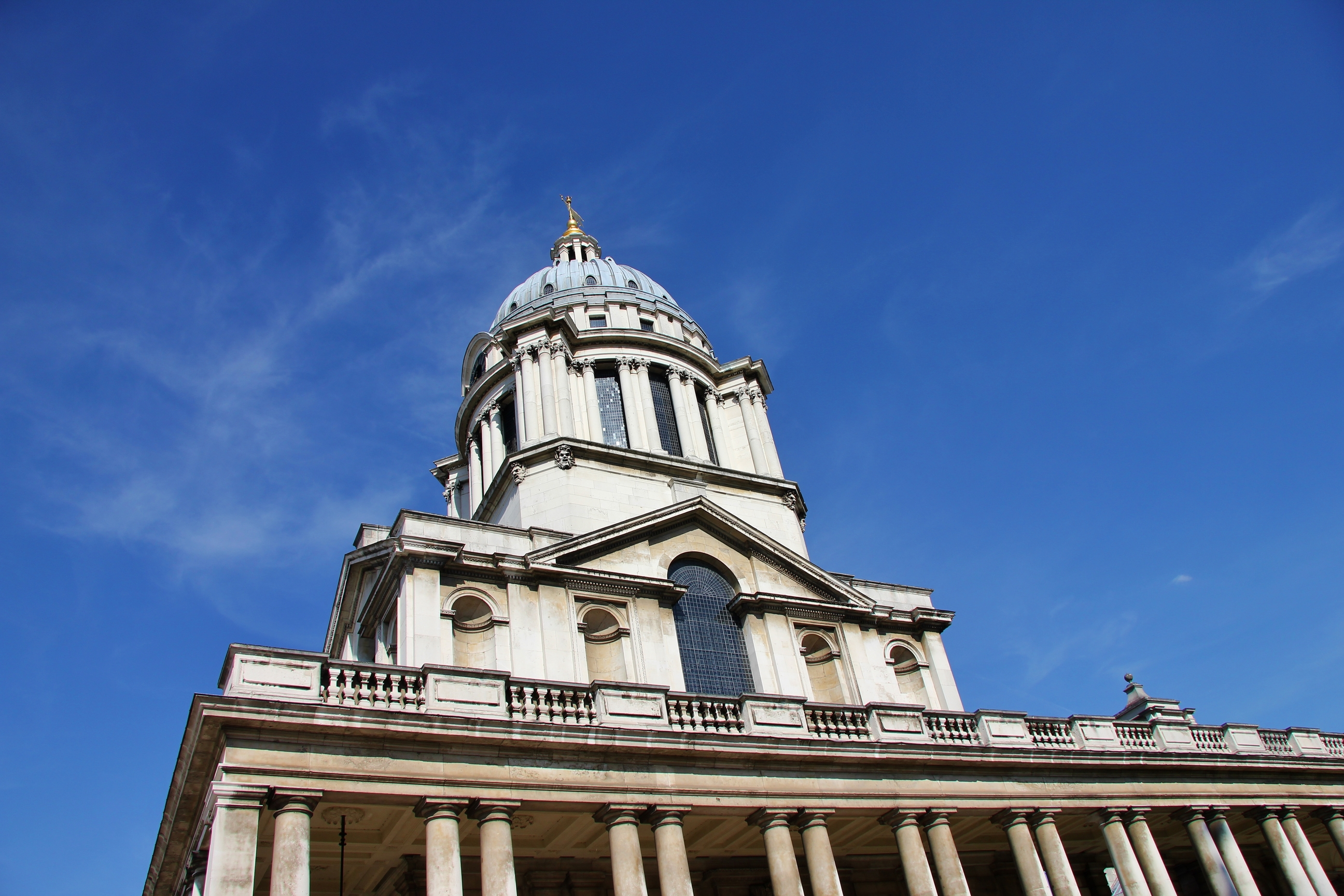 Historical buildings in Greenwich, London