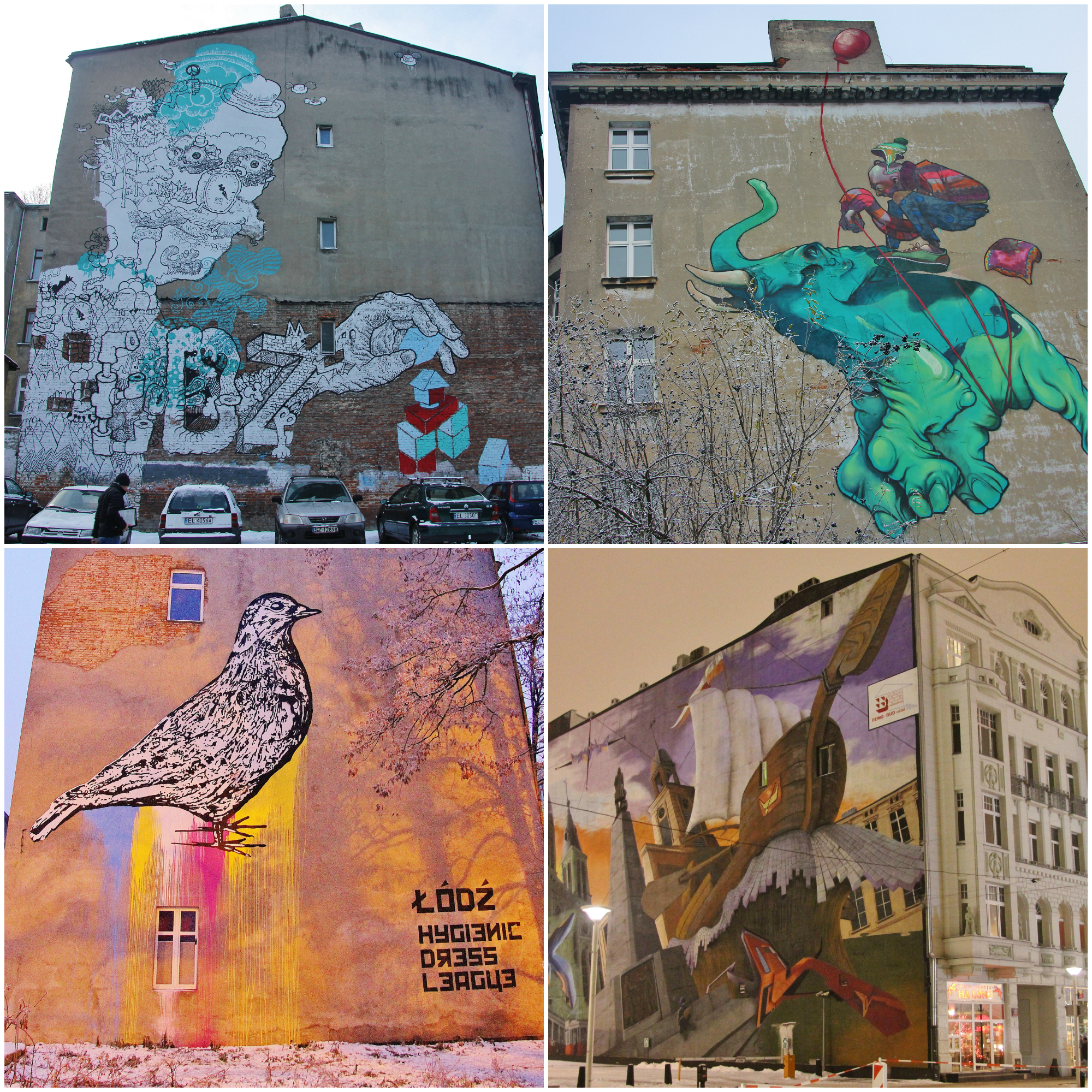 Urban Forms, Street Art in Lodz
