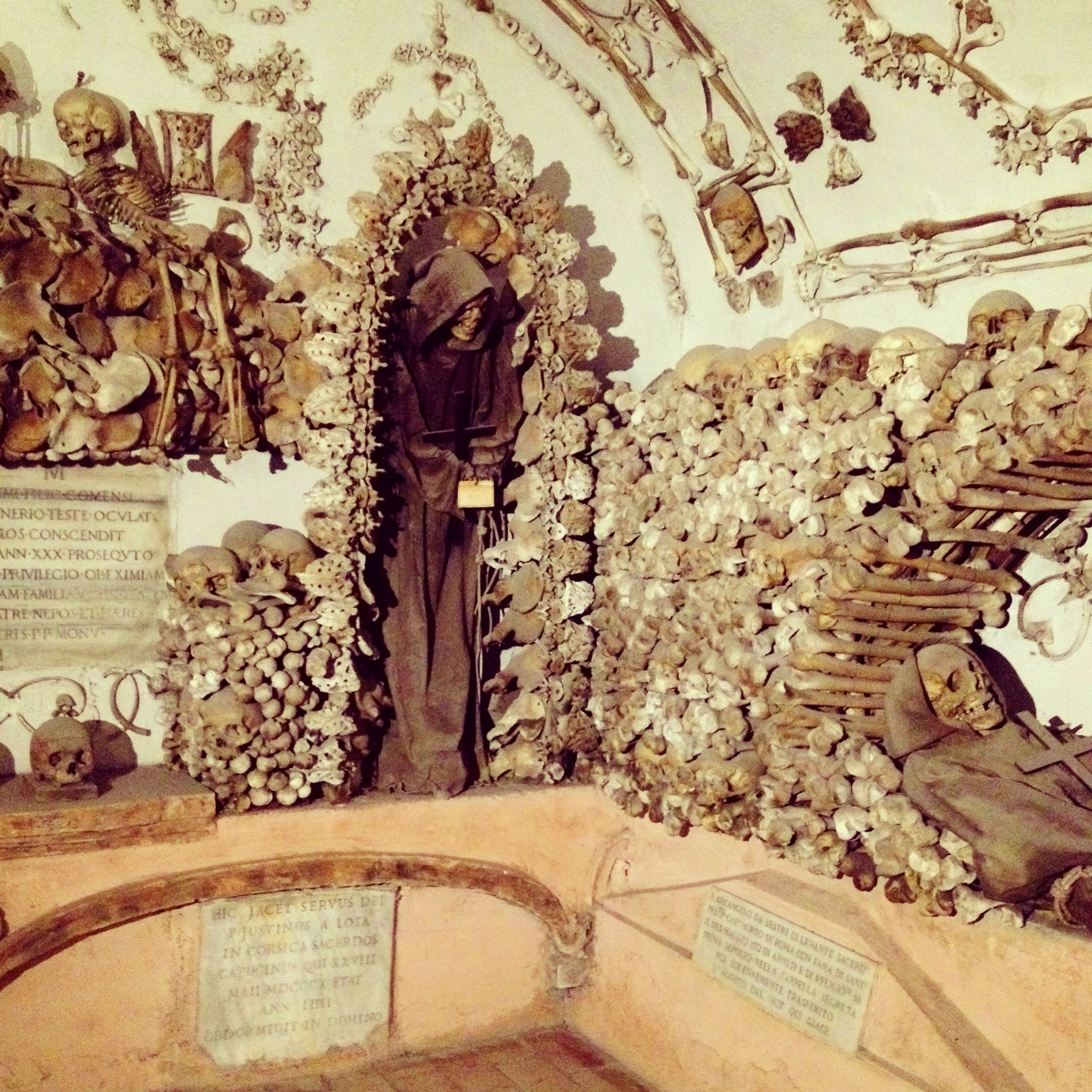 Capuchin Crypt, Bone Church, Rome