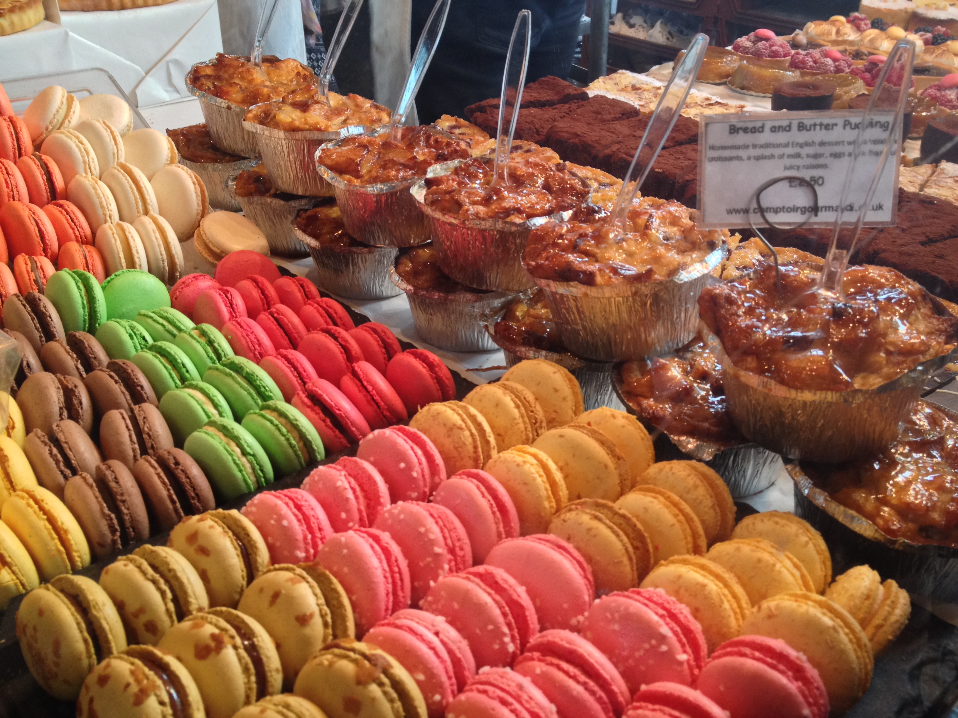 Macaroons, Borough Food Market, London