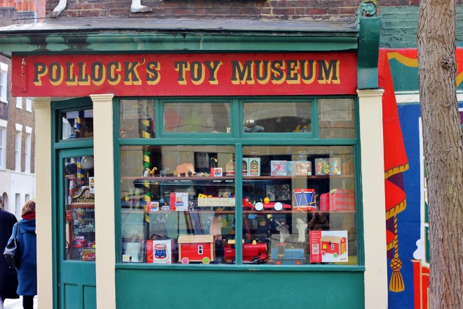 Pollocks Toy Museum, Goodge Street