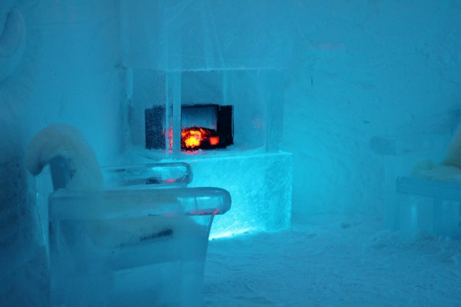 Inside the Igloo Hotel, Alta