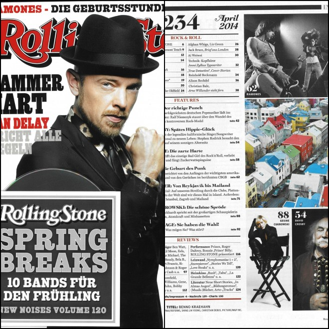 Rolling Stone Magazine Germany edition
