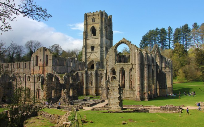 Ruins of Fountain's Abbey