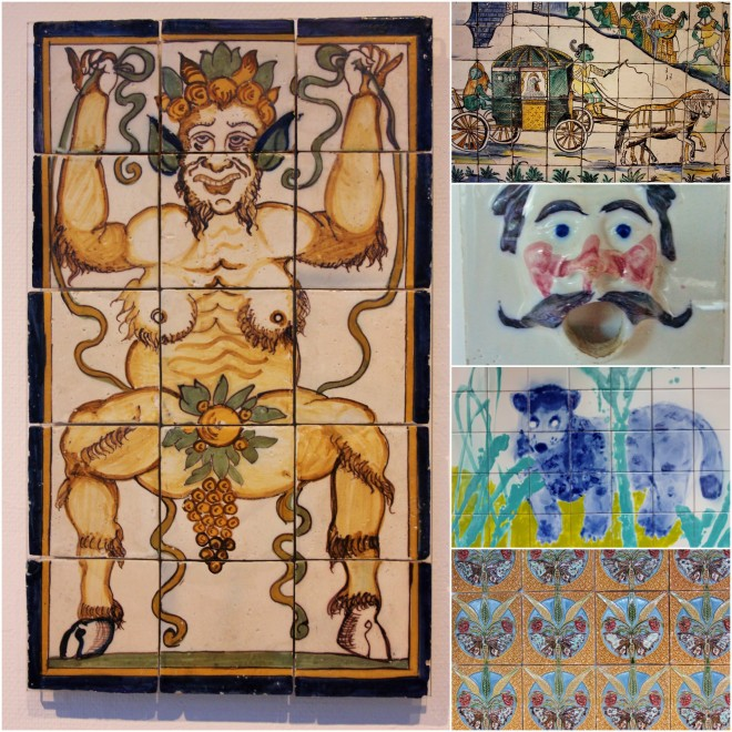 Azulejo, the tile museum in Lisbon