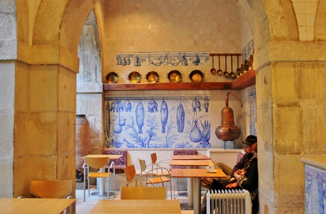 Tile Cafe in Lisbon