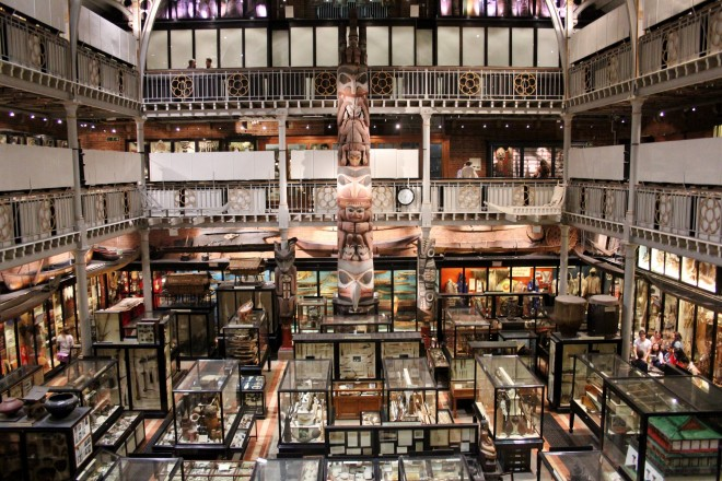 Pitt Rivers Museum in Oxford