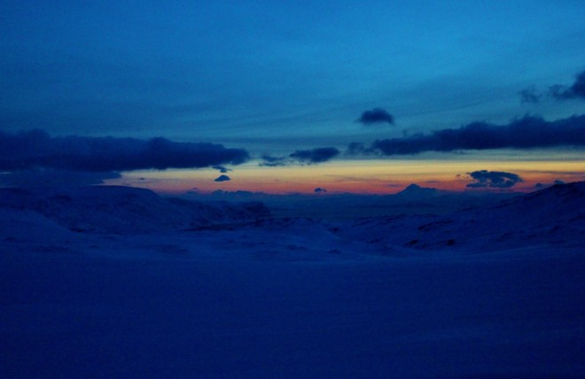 Polar nights in the Arctic