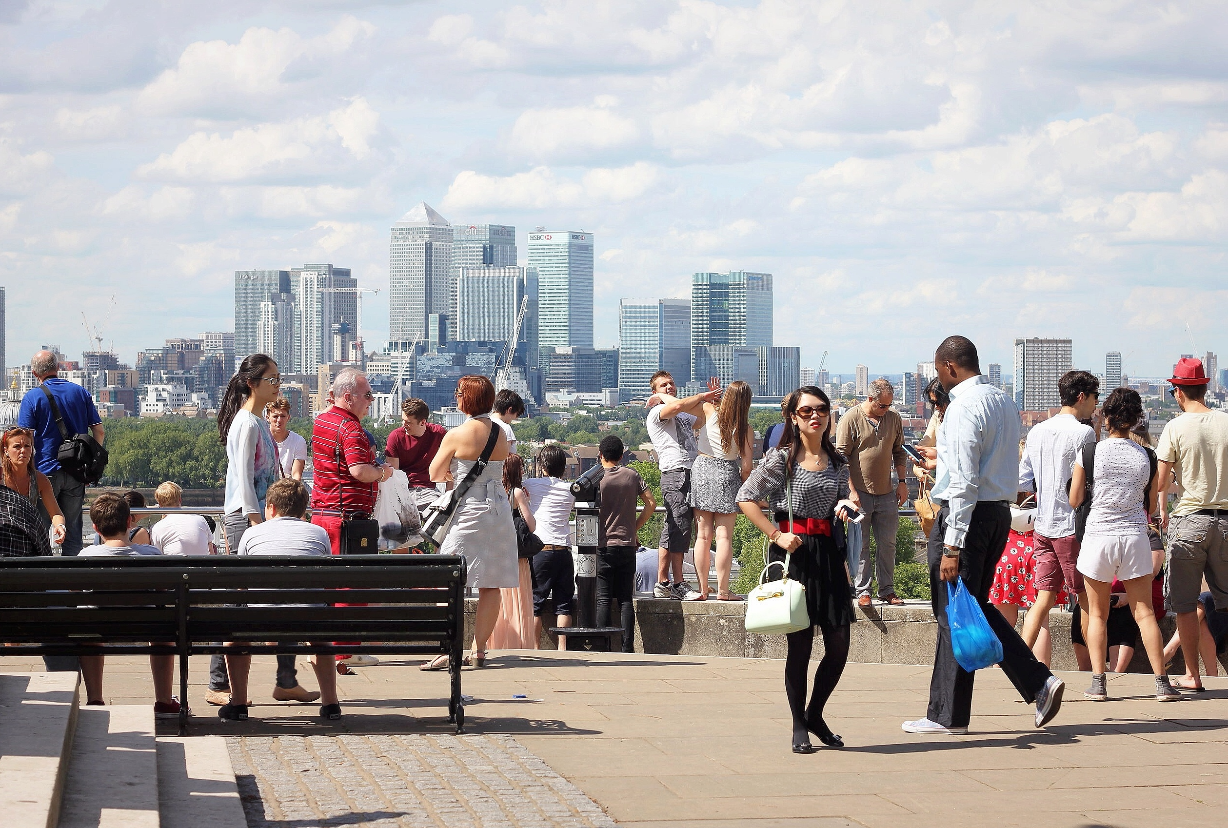 Greenwich viewpoint, London
