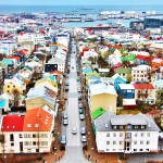 colourful cities, Reykjavik