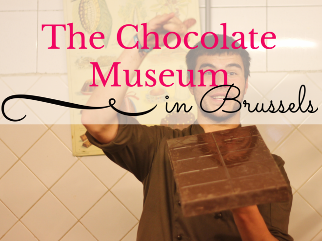 Chocolate Museum in Brussels