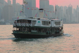 Catch the Star Ferry in Hong Kong
