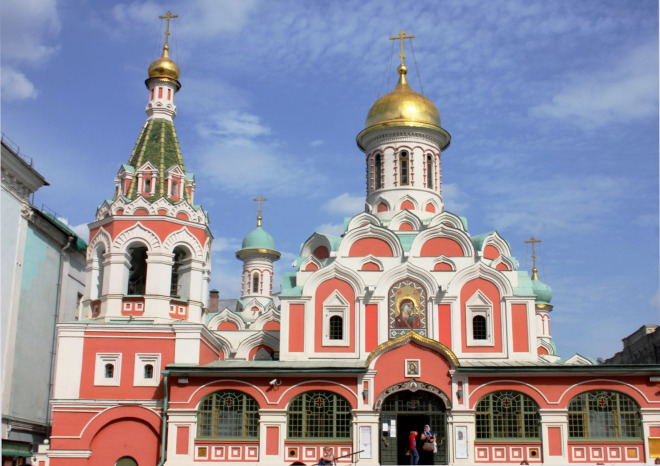 Kanzan Cathedral, Red Square, Moscow