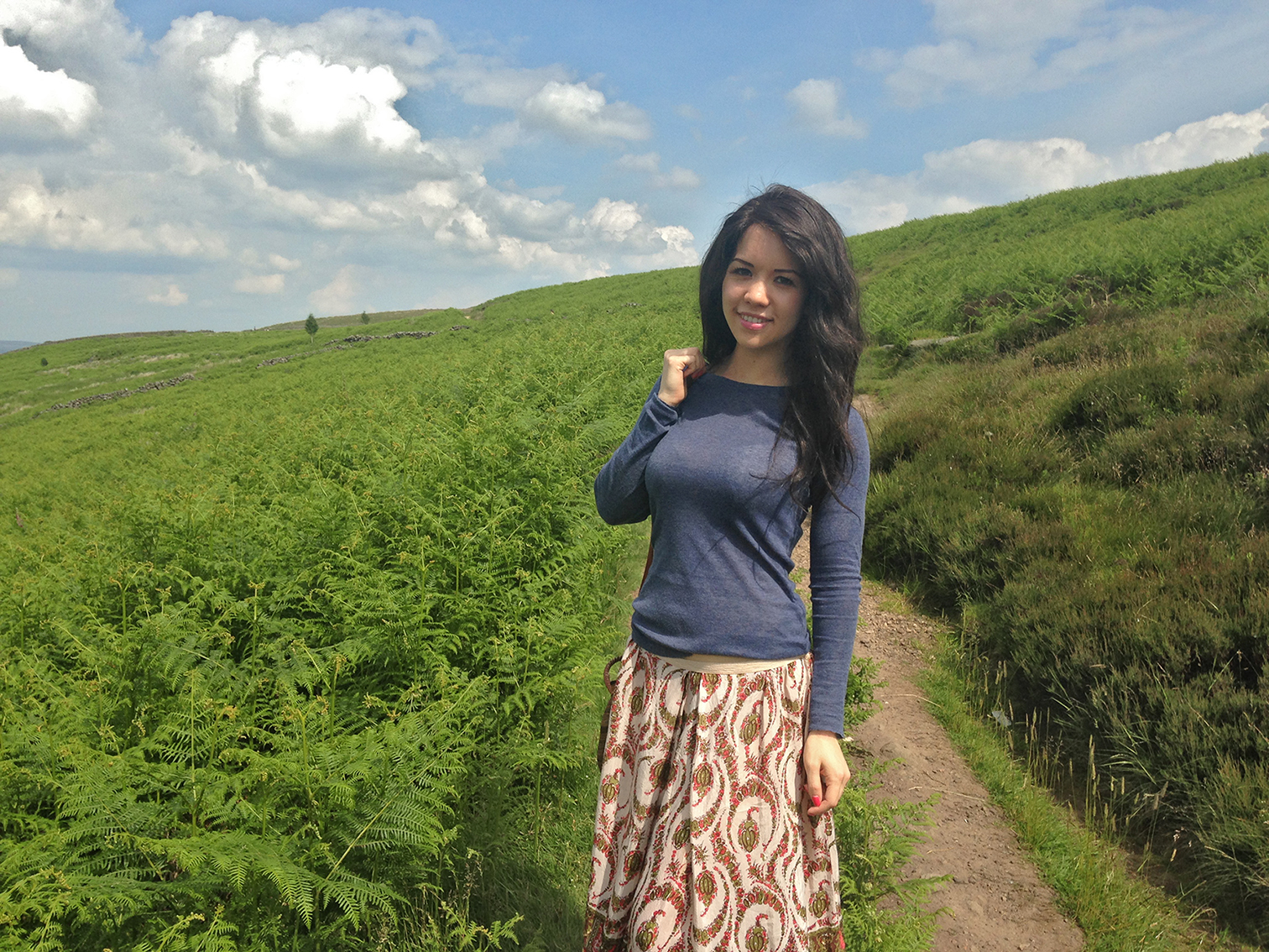 Yorkshire Moors walking