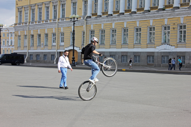 Cycling in Saint Petersburg