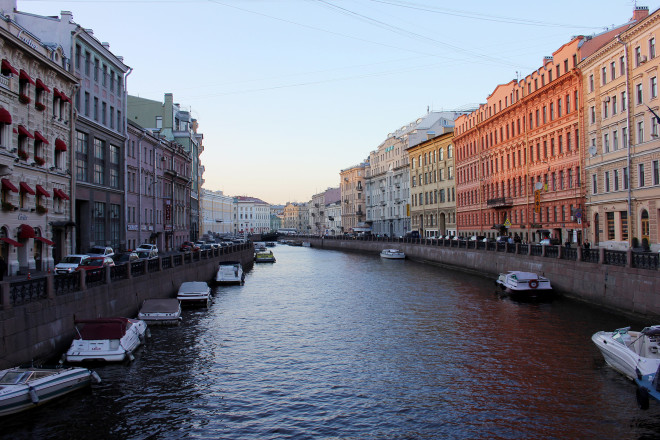 Never River, St. Petersburg