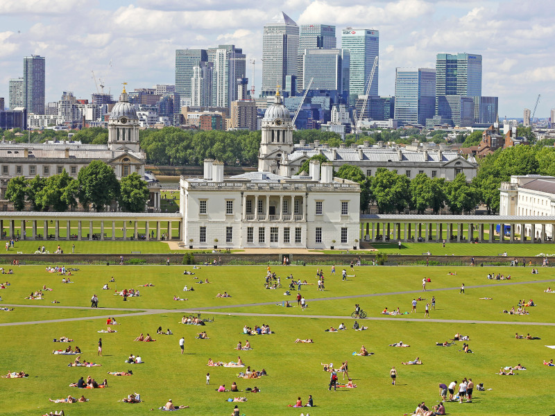 Summer in Greenwich, London
