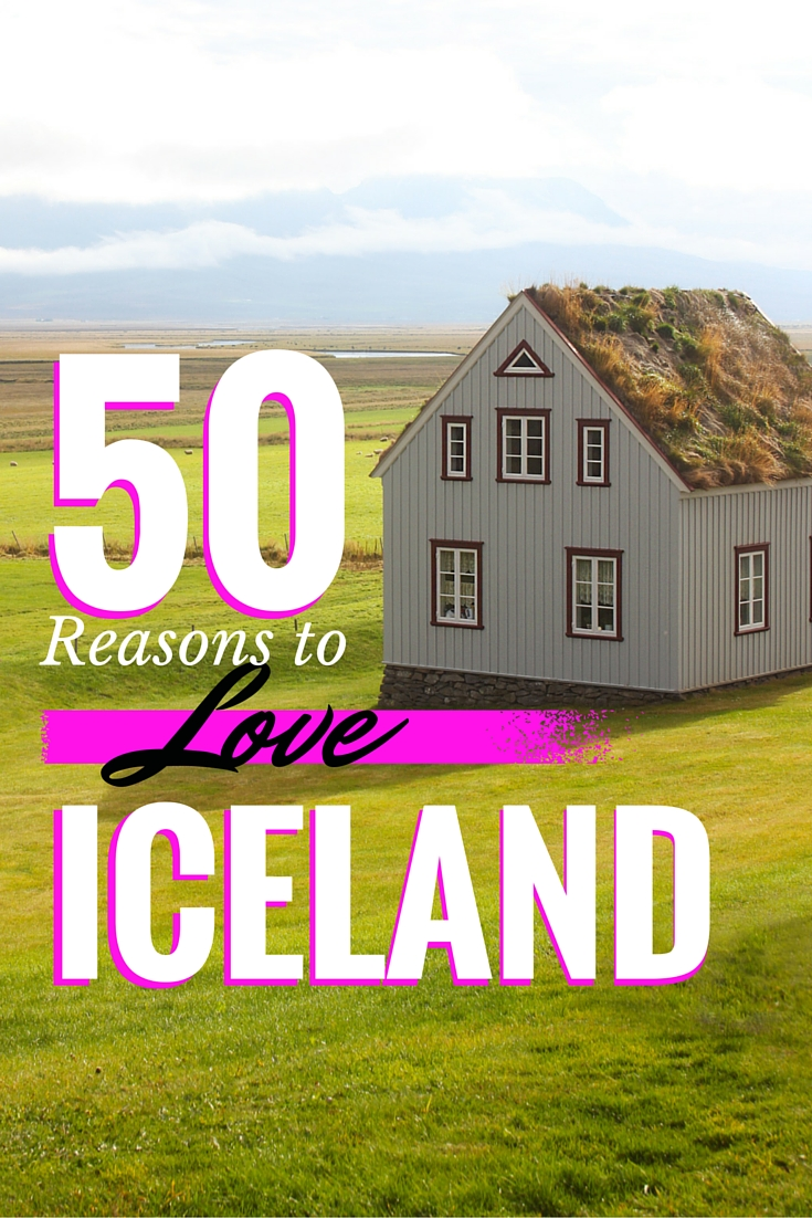 50 Reasons to love Iceland