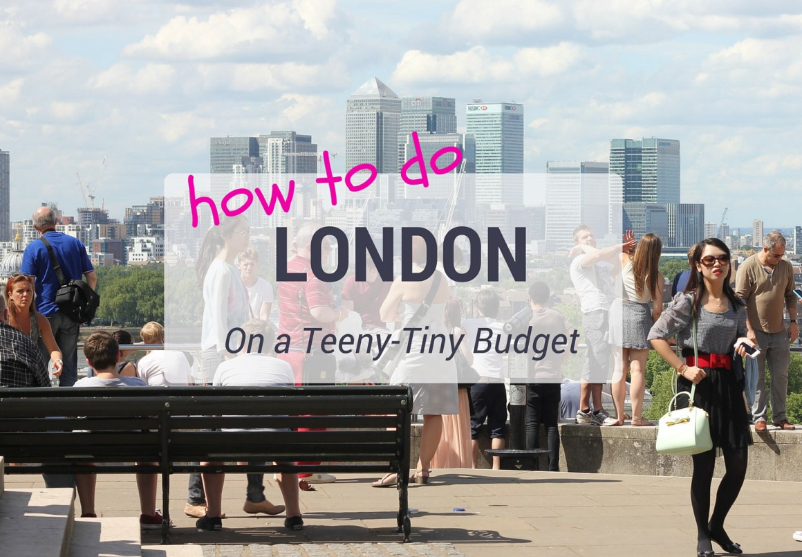 London Budget Tips