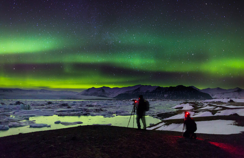 Northern Lights, Jokulsarlon