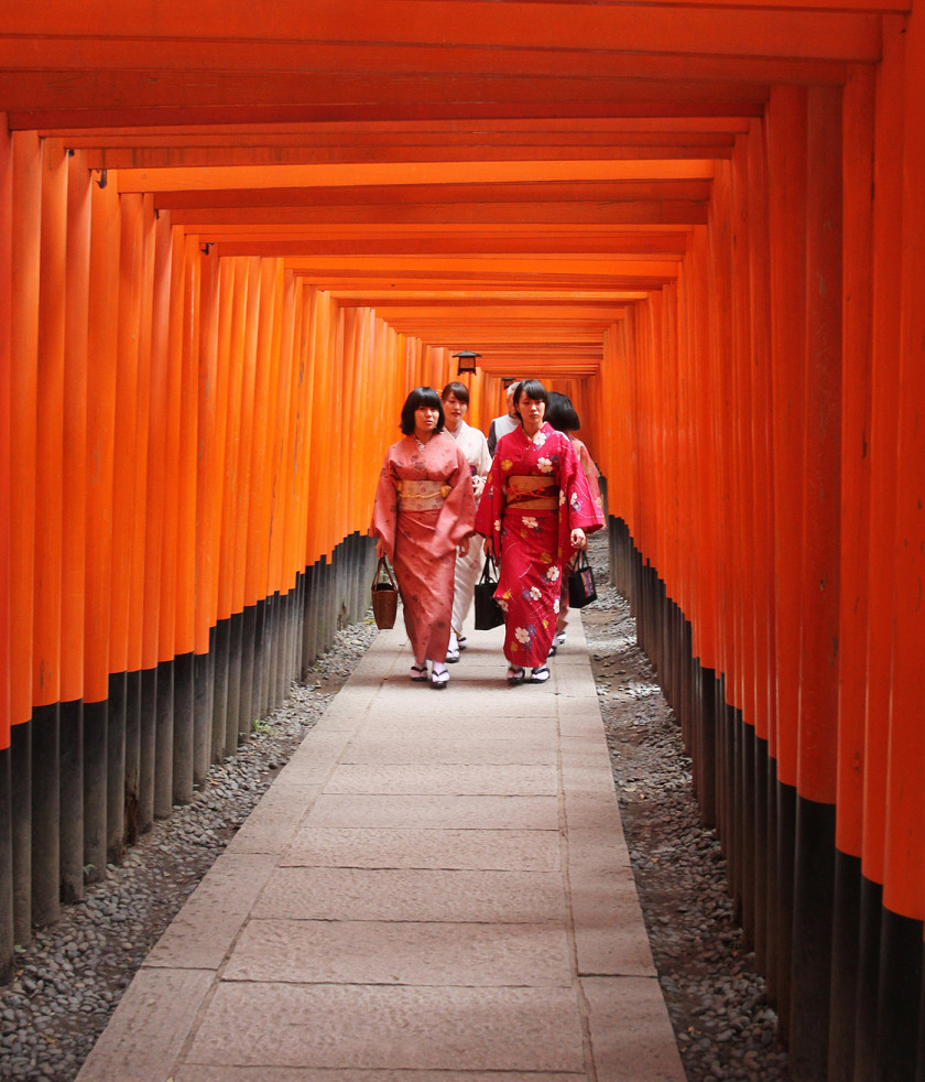 Beautiful Fushimi Inari-Taisha in Kyoto