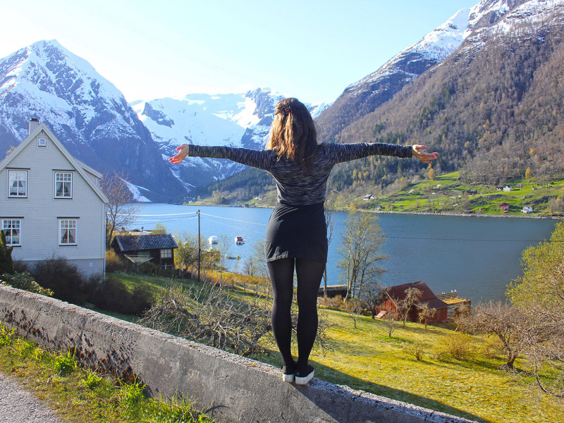 Balestrand in Norway