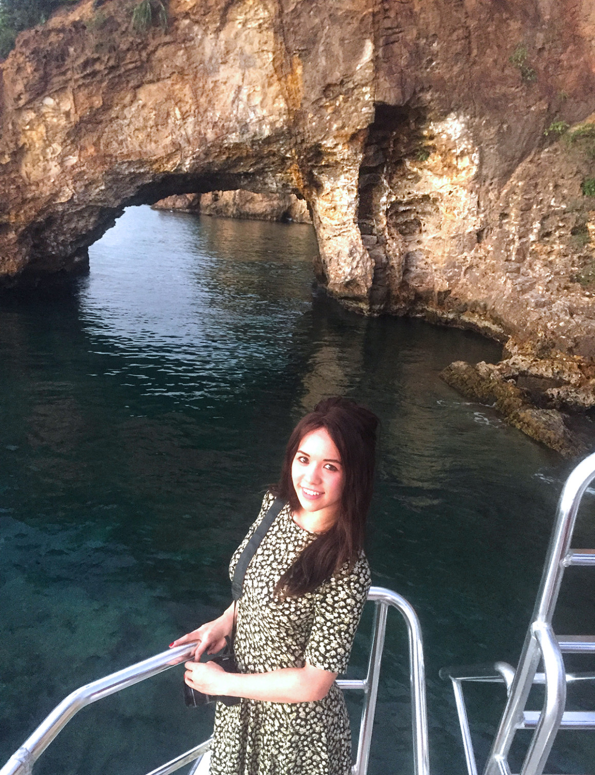 Boat cruise to Lover's Rock in St Lucia