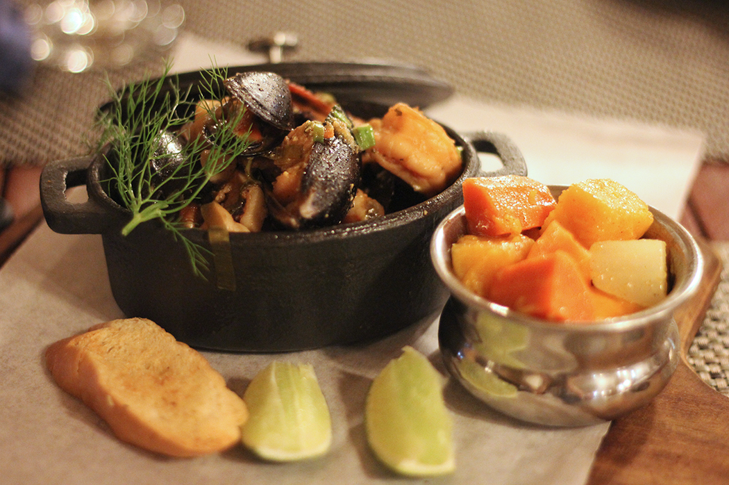 Seafood in St Lucia