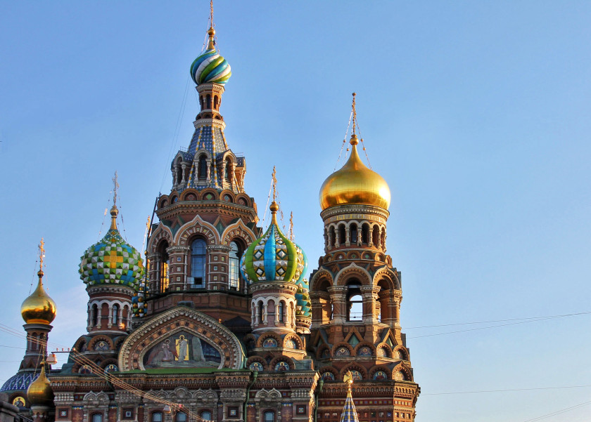 Church of Our Savior on Spilled Blood in St Petersburg