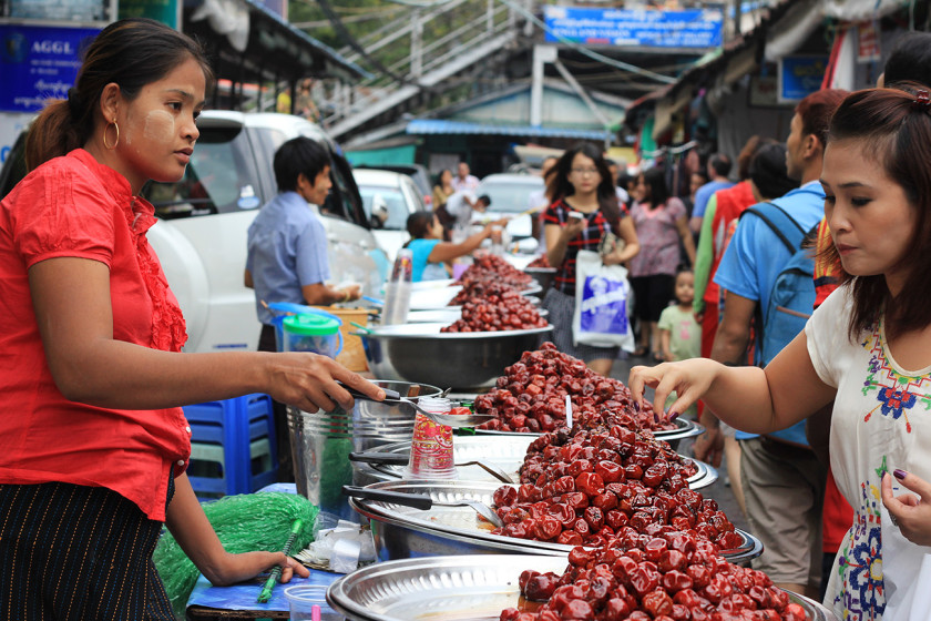 Scott's Food Market in Yangon