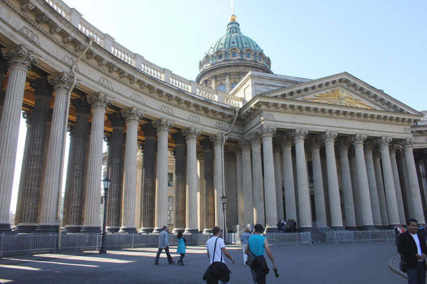 Kazan Cathedral, the Beautiful city of St Petersburg