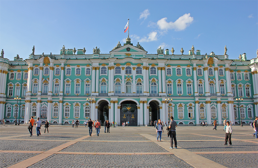 Hermitage Museum aka the Winter Palace in St Petersburg